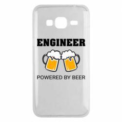 Чохол для Samsung J3 2016 Engineer Powered By Beer