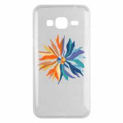 Чохол для Samsung J3 2016 Flower coat of arms of Ukraine