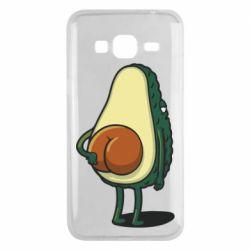 Чохол для Samsung J3 2016 Funny avocado