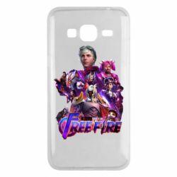Чехол для Samsung J3 2016 Garena free avengers
