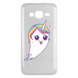 Чохол для Samsung J3 2016 Ghost Unicorn
