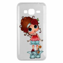 Чехол для Samsung J3 2016 Girl with big eyes