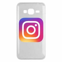 Чохол для Samsung J3 2016 Instagram Logo Gradient
