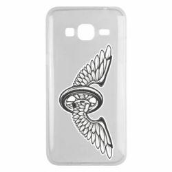 Чохол для Samsung J3 2016 Колесо та крила