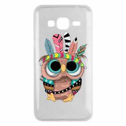 Чохол для Samsung J3 2016 Little owl with feathers