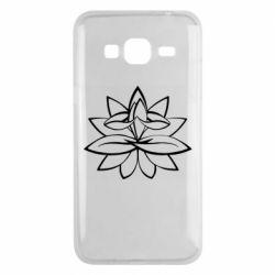 Чохол для Samsung J3 2016 Lotus yoga