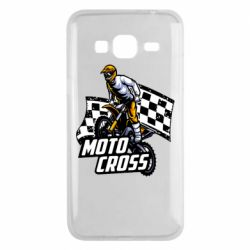 Чехол для Samsung J3 2016 Motocross