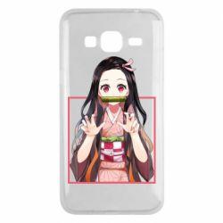 Чохол для Samsung J3 2016 Nezuko