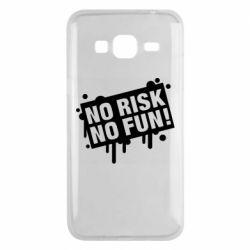 Чохол для Samsung J3 2016 No Risk No Fun