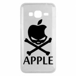 Чехол для Samsung J3 2016 Pirate Apple