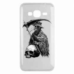 Чехол для Samsung J3 2016 Plague Doctor graphic arts