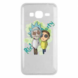 Чохол для Samsung J3 2016 Rick and Morty voodoo doll