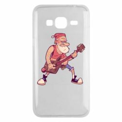 Чохол для Samsung J3 2016 Rock'n'roll Santa