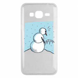 Чохол для Samsung J3 2016 Snowman. It's Cold!