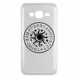 Чохол для Samsung J3 2016 Sun in runes