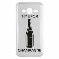 Чохол для Samsung J3 2016 Time for champagne