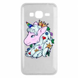 Чохол для Samsung J3 2016 Unicorn Princess