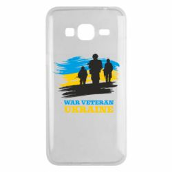 Чохол для Samsung J3 2016 War veteran оf Ukraine