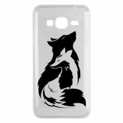 Чехол для Samsung J3 2016 Wolf And Fox