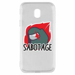 Чохол для Samsung J3 2017 Among Us Sabotage