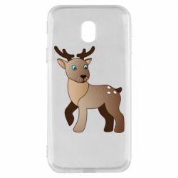Чехол для Samsung J3 2017 Cartoon deer