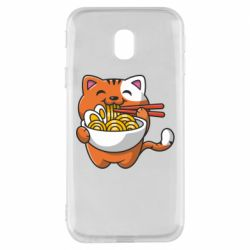 Чохол для Samsung J3 2017 Cat and Ramen
