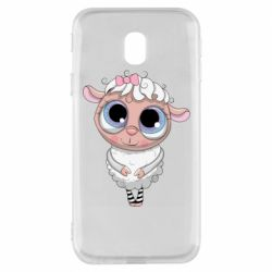 Чехол для Samsung J3 2017 Cute lamb with big eyes