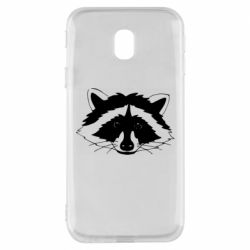 Чохол для Samsung J3 2017 Cute raccoon face