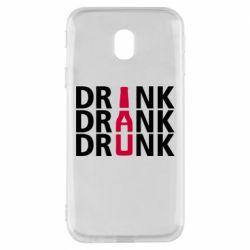 Чехол для Samsung J3 2017 Drink Drank Drunk
