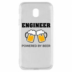 Чохол для Samsung J3 2017 Engineer Powered By Beer