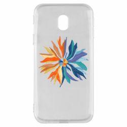 Чохол для Samsung J3 2017 Flower coat of arms of Ukraine