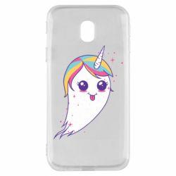 Чохол для Samsung J3 2017 Ghost Unicorn