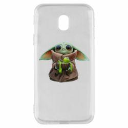 Чохол для Samsung J3 2017 Grogu and Kermit