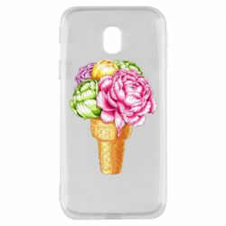 Чохол для Samsung J3 2017 Ice cream flowers