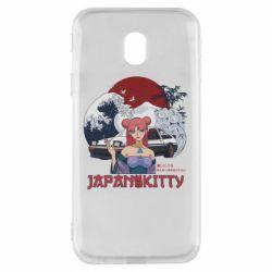 Чохол для Samsung J3 2017 Japan Kitty