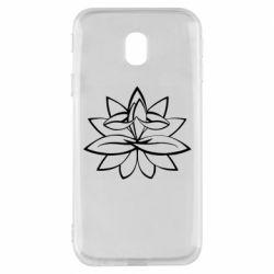 Чохол для Samsung J3 2017 Lotus yoga
