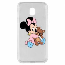 Чохол для Samsung J3 2017 Minnie And Bear