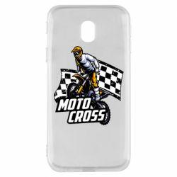 Чехол для Samsung J3 2017 Motocross