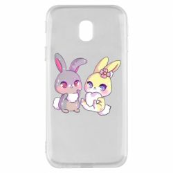 Чохол для Samsung J3 2017 Rabbits In Love