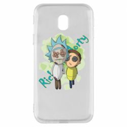 Чохол для Samsung J3 2017 Rick and Morty voodoo doll