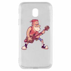 Чохол для Samsung J3 2017 Rock'n'roll Santa