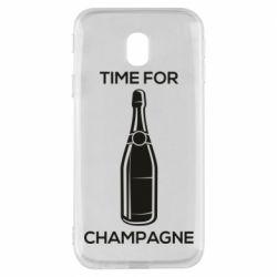 Чохол для Samsung J3 2017 Time for champagne