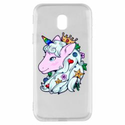 Чохол для Samsung J3 2017 Unicorn Princess