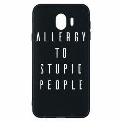 Чохол для Samsung J4 Allergy To Stupid People