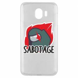 Чохол для Samsung J4 Among Us Sabotage