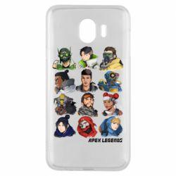 Чохол для Samsung J4 Apex legends heroes
