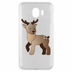 Чехол для Samsung J4 Cartoon deer