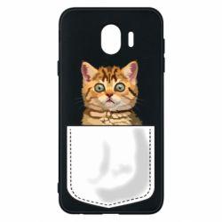 Чехол для Samsung J4 Cat in your pocket