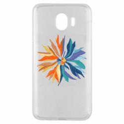 Чохол для Samsung J4 Flower coat of arms of Ukraine