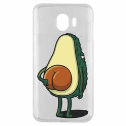 Чохол для Samsung J4 Funny avocado